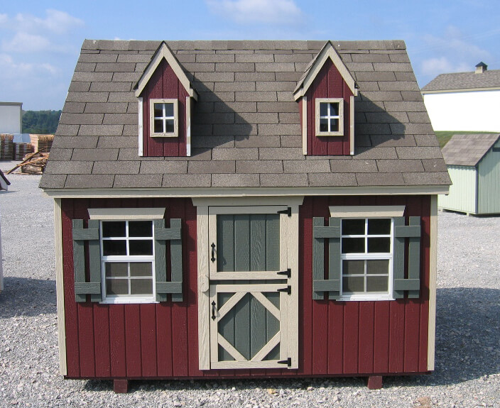 Cape Cod Playhouse 8x8