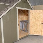 Cape Cod Cozy Kennel Door Exterior