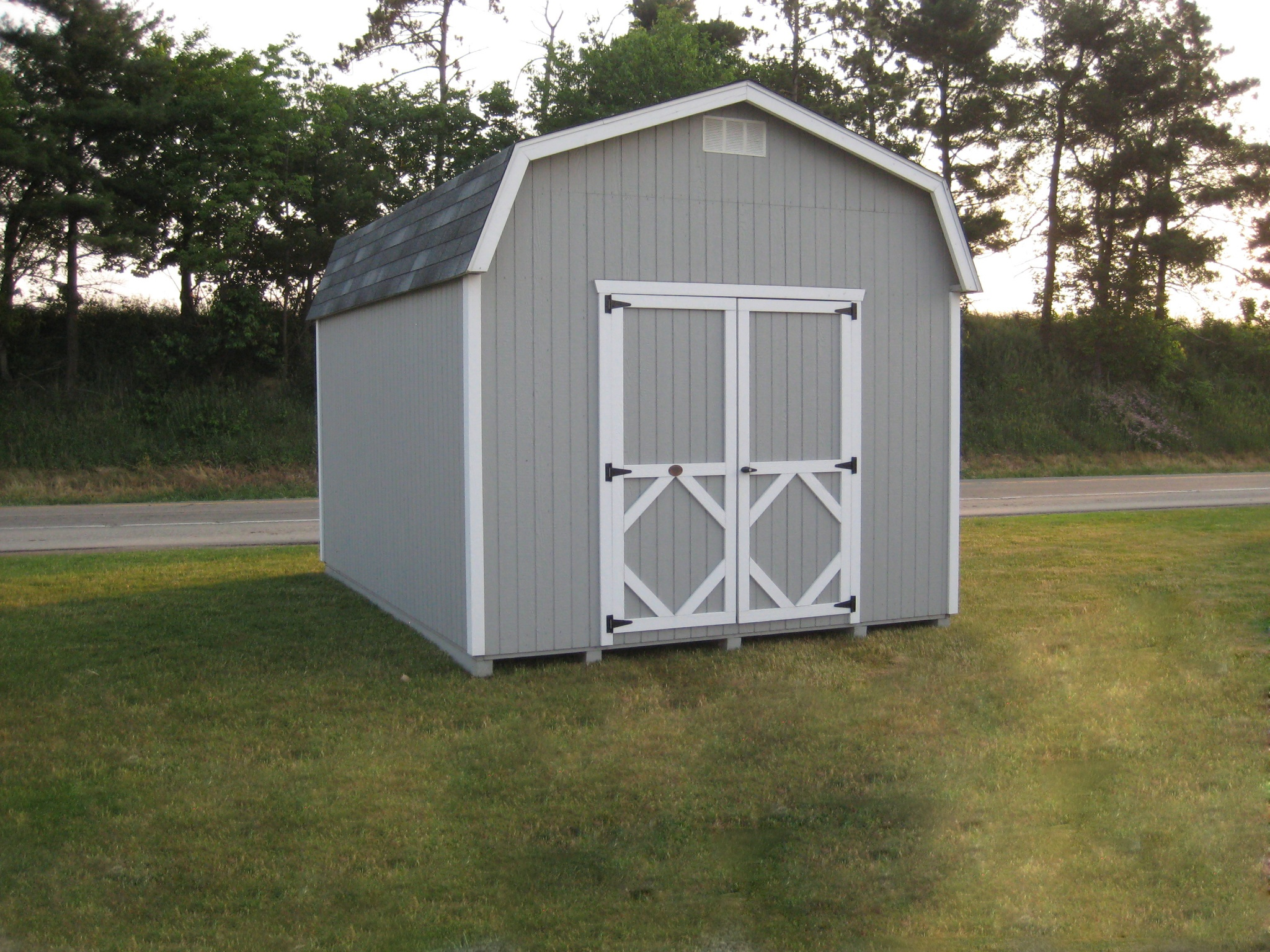 Classic Barn w/ 6' Sidewall storage shed kit