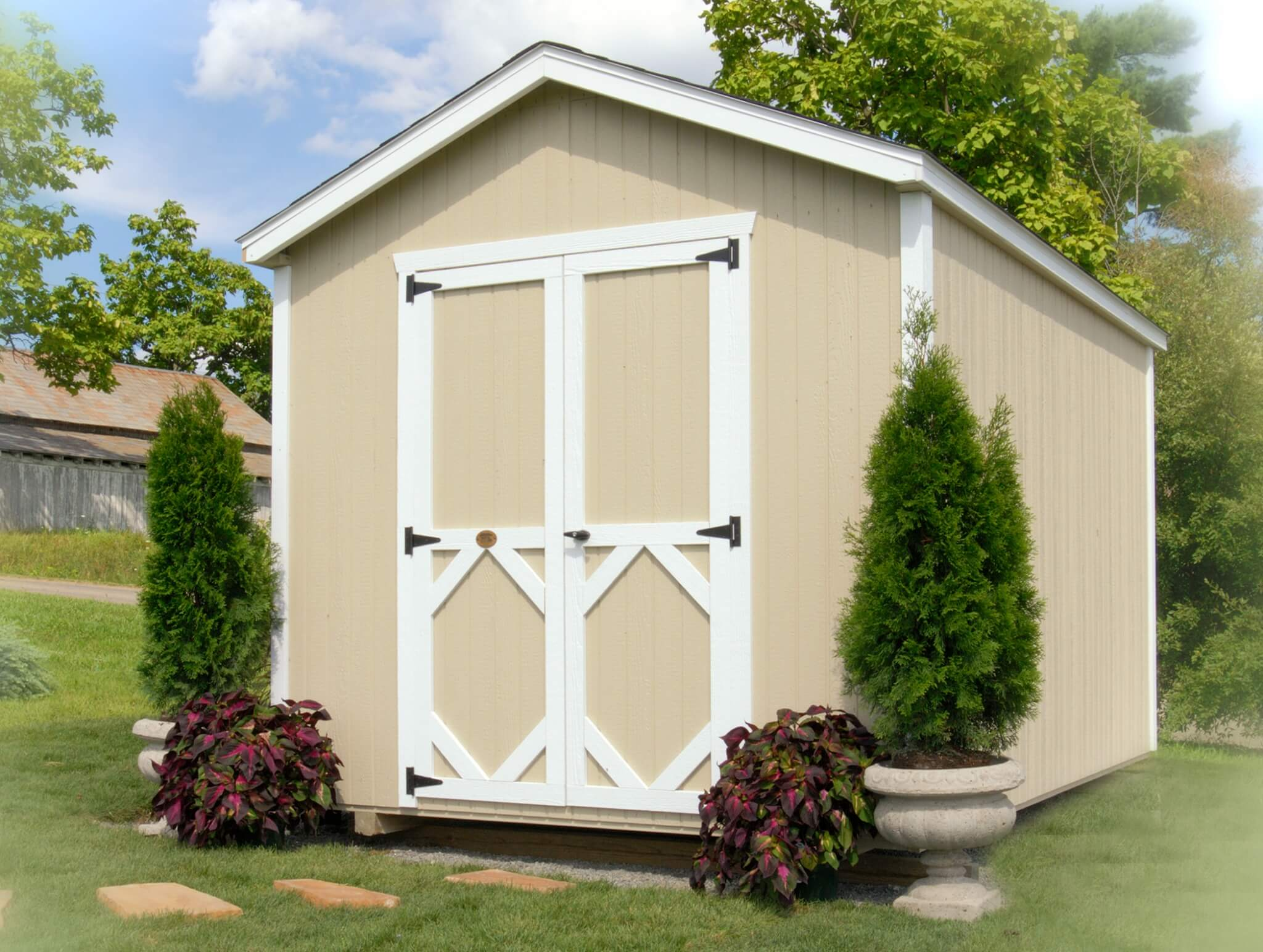 Classic Gable storage shed kit