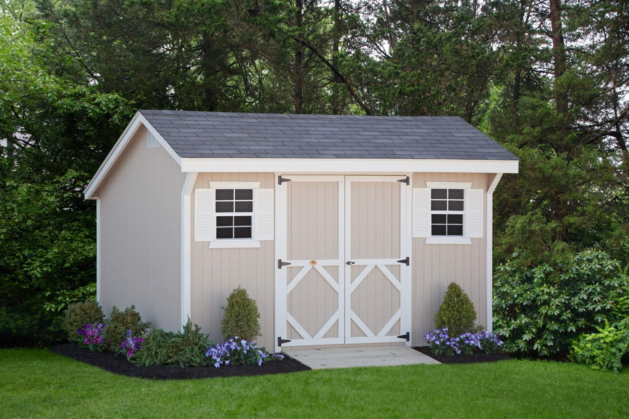 Classic Saltbox storage shed kit