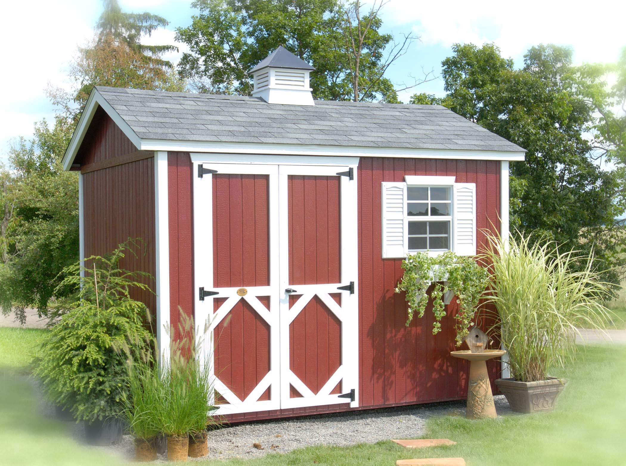 Classic Workshop storage shed kit