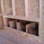 Colonial Gable Coop Interior Four Nesting Boxes