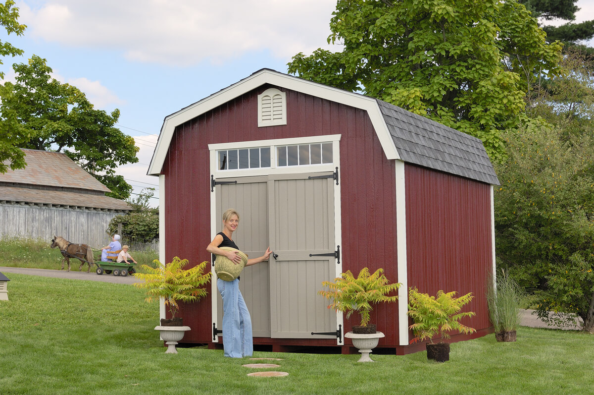 Colonial Woodbury Garden Shed kit