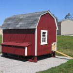 Gambrel Barn Coop