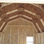 Gambrel Barn Coop Interior Ceiling