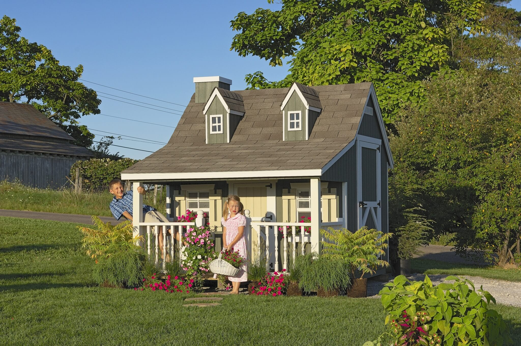 9x8 Pennfield Cottage Playhouse