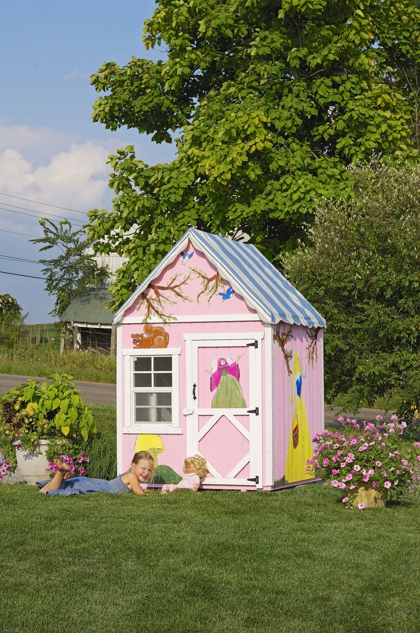 Sweetbriar Cottage playhouse