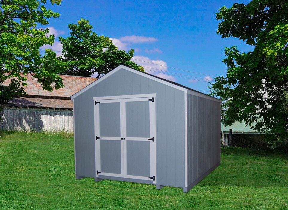 Gable Shed value storage shed