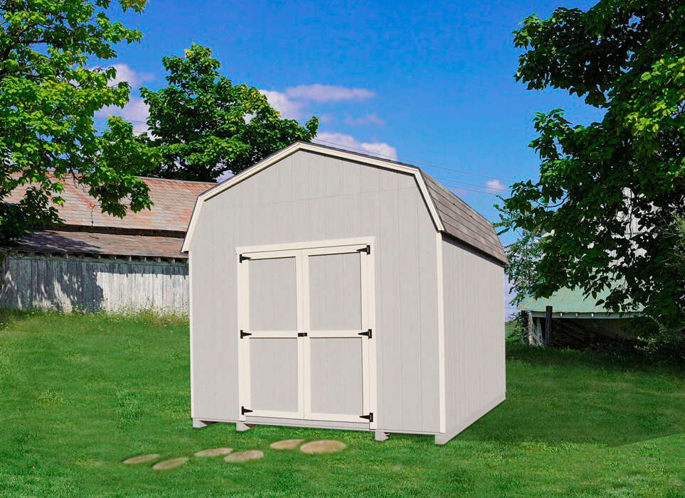 6' Gambrel Barn value storage shed