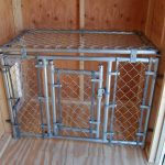 Victorian Cozy Dog Kennel Interior