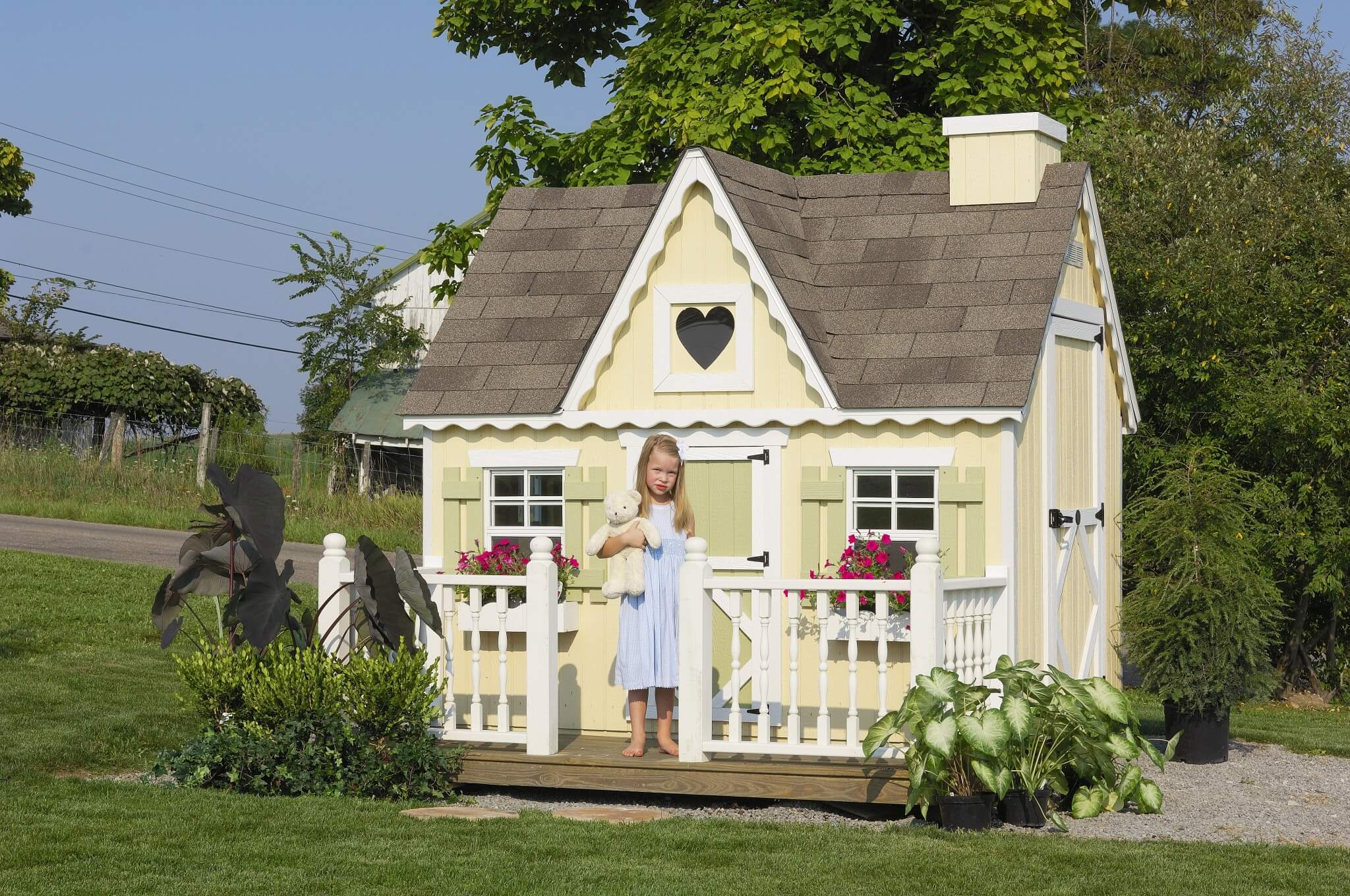Victorian Playhouse Pre Built Playhouses Kits By Little Cottage Co