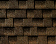 Timberline Barkwood shingle sample
