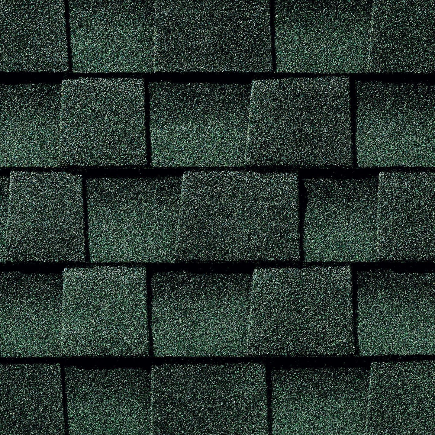 Timberline Hunter Green shingle sample