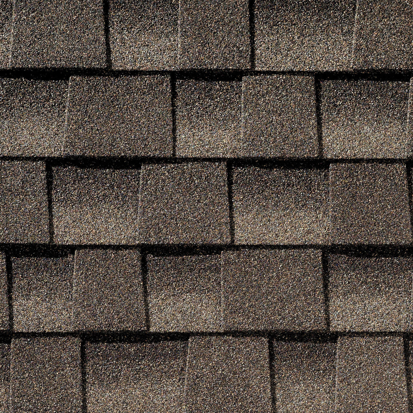 Timberline Mission Brown shingle sample