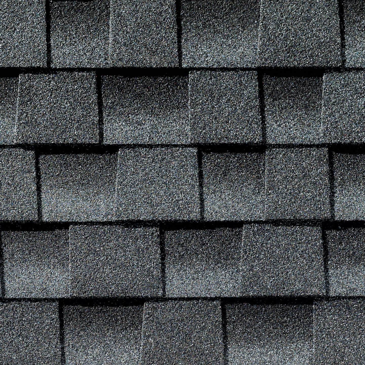 Timberline Pewter Gray shingle sample