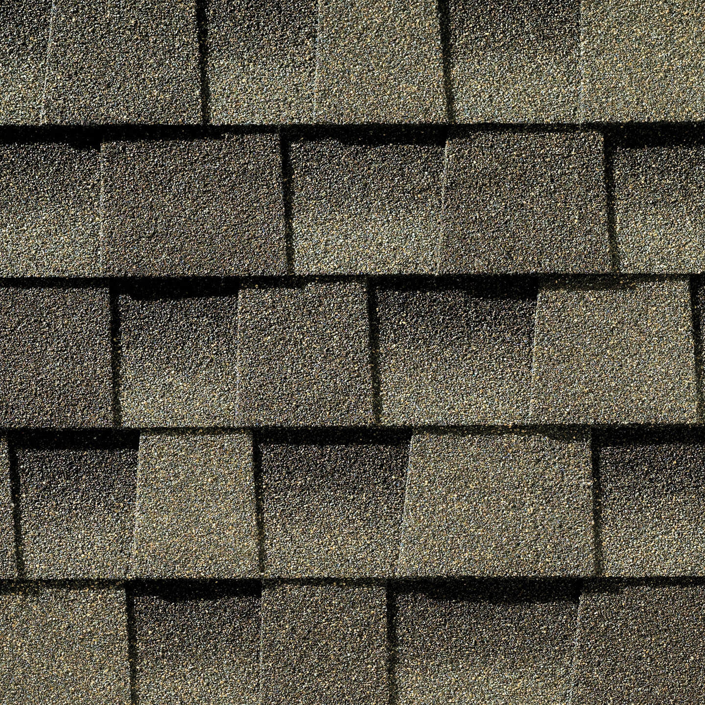 Timberline Weathered Wood shingle sample